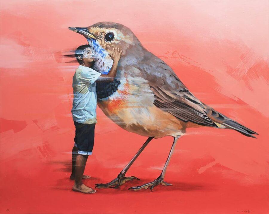 Artistas latinoamericanos que debes conocer/ Pintura de Jade Rivera
