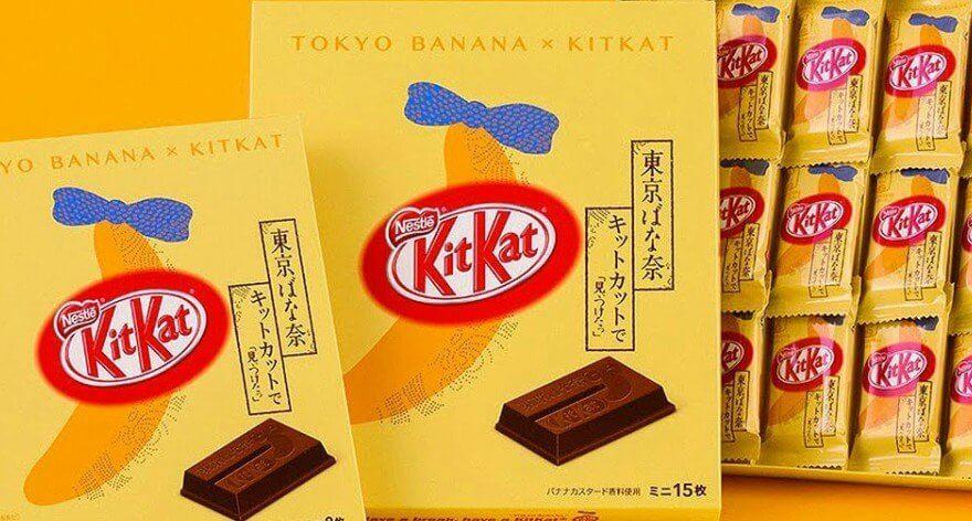 KitKat Japón lanza chocolates olímpicos de oro