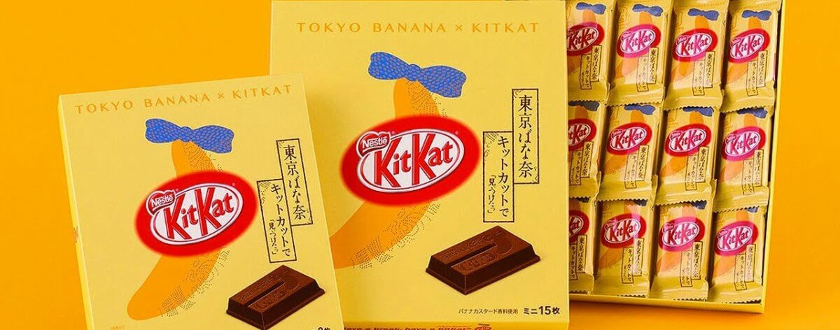 KitKat Japan launches Olympic gold chocolates