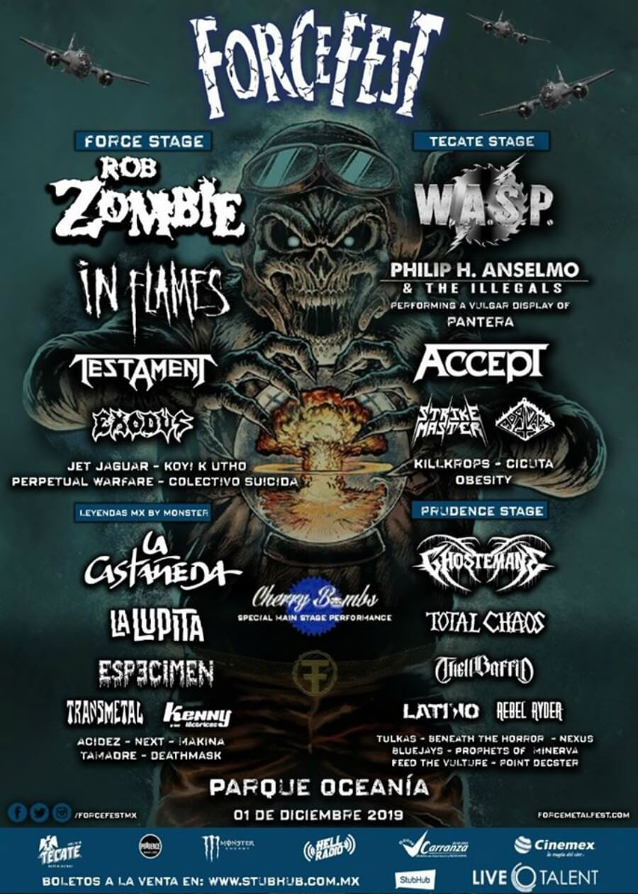 Knotfest y Force Fest