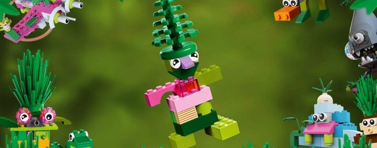 LEGO sustituye el plástico por la caña de azúcar