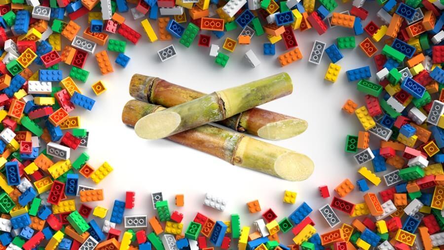 Lego sustituye plástico por caña de azúcar