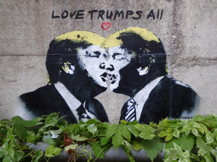 Stencil anti Donald Trump