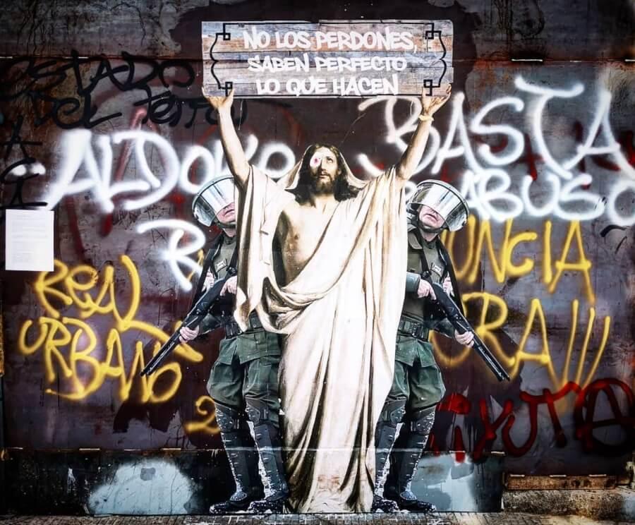 El mejor street art con mensajes sociales o de protesta
