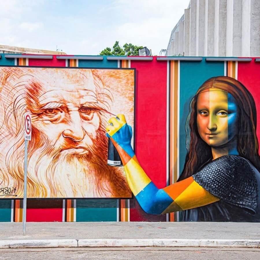 Kobra y Leonado Da Vinci