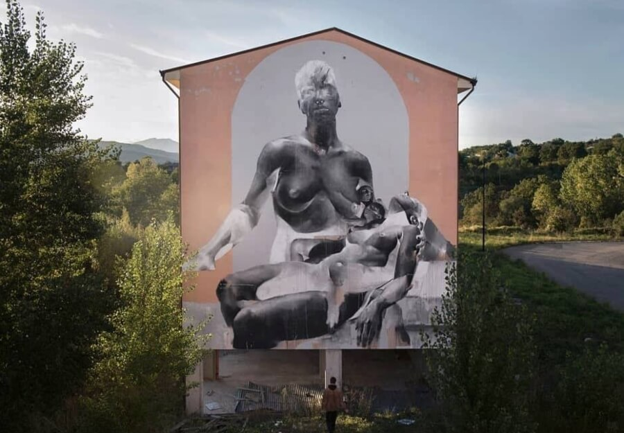 Mural por Francisco Bosoletti