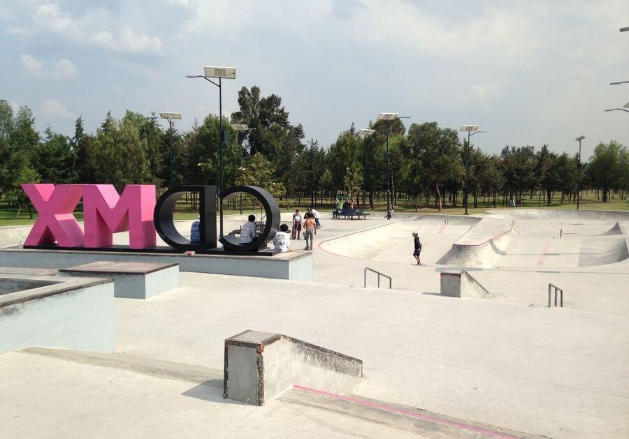 Skatepark al norte de la ciudad