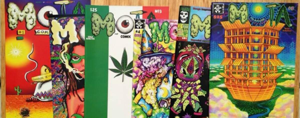 Mota Comix un cómic marihuanero mexa