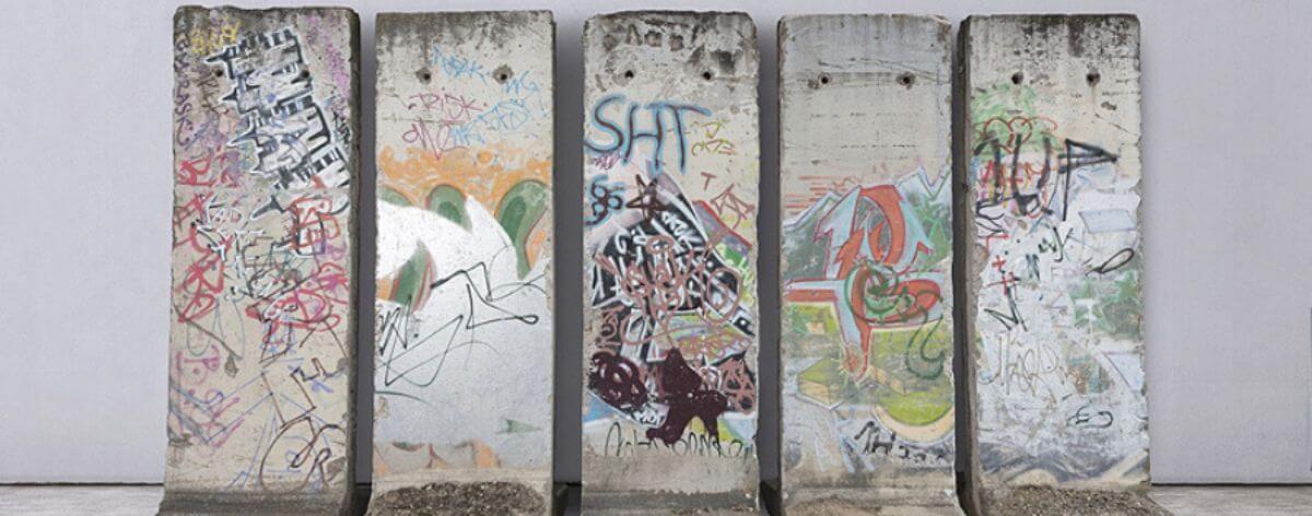 Muro de Berlín será subastado en feria de arte