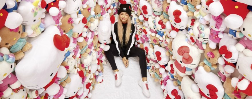 Puma y Hello Kitty tienen una segunda colaboración