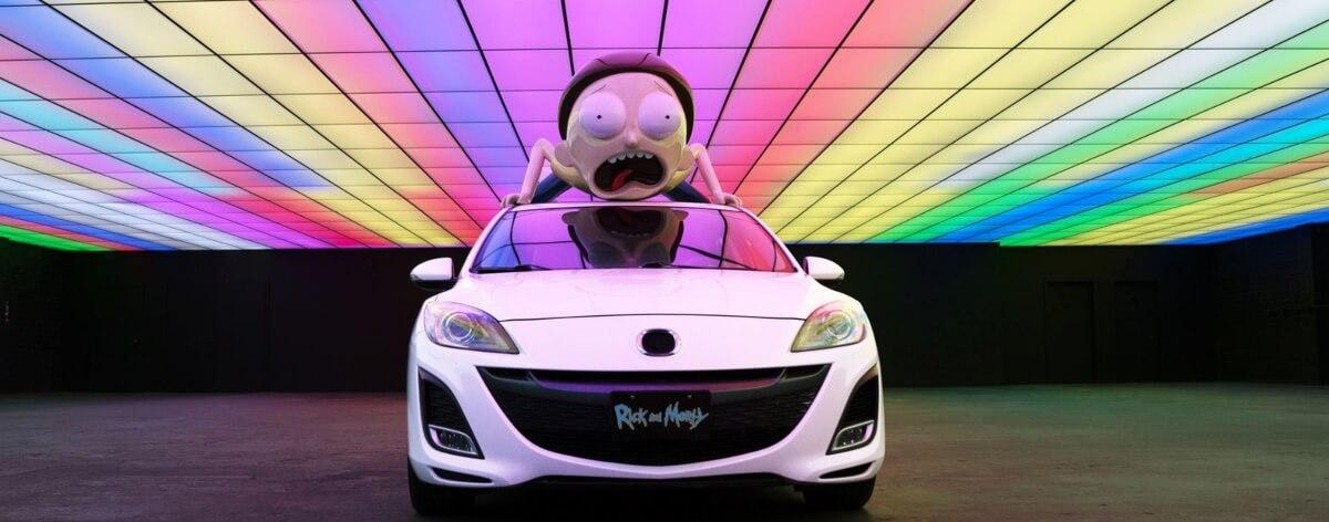 Mortymobile, el auto para todo fan de Rick and Morty