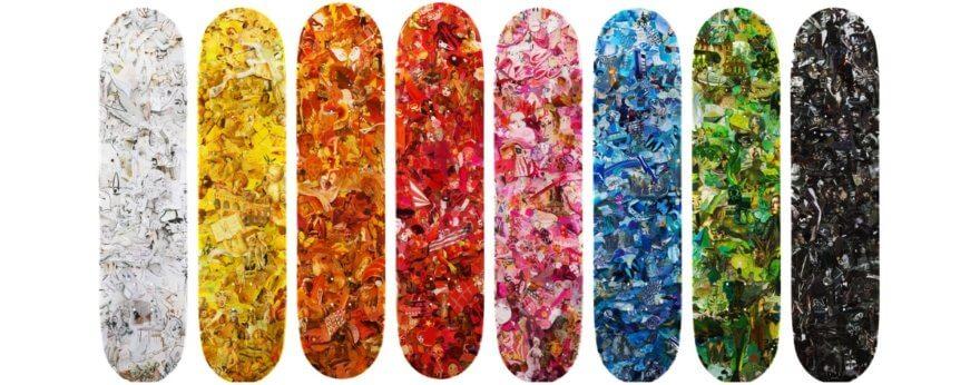 The Skateroom y el proyecto colaborativo con Vic Muniz