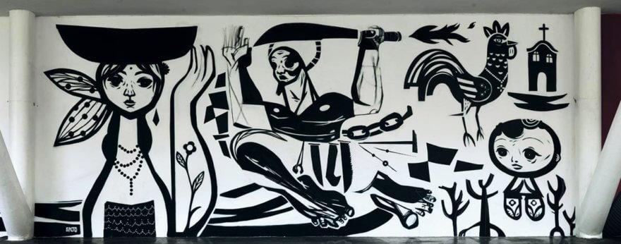 Speto, un pionero del graffiti hecho en Brasil