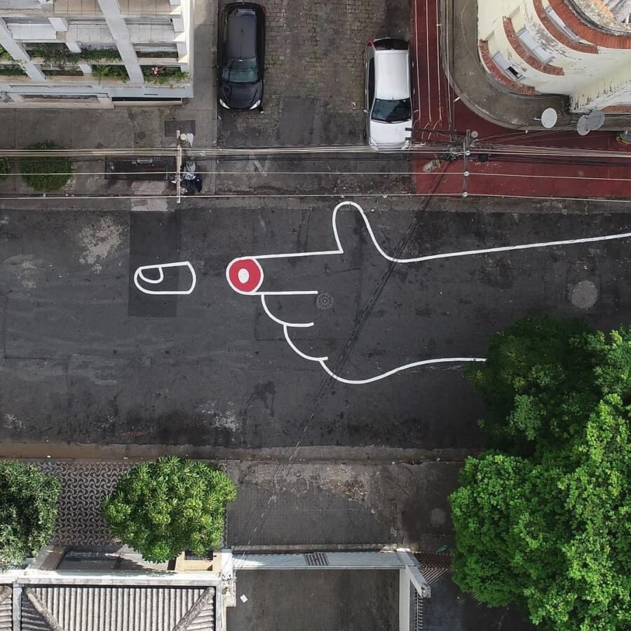 Los murales del artista son un diálogo cercano con la calle