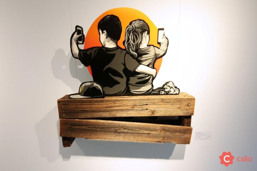 The Social Paradox exhibición