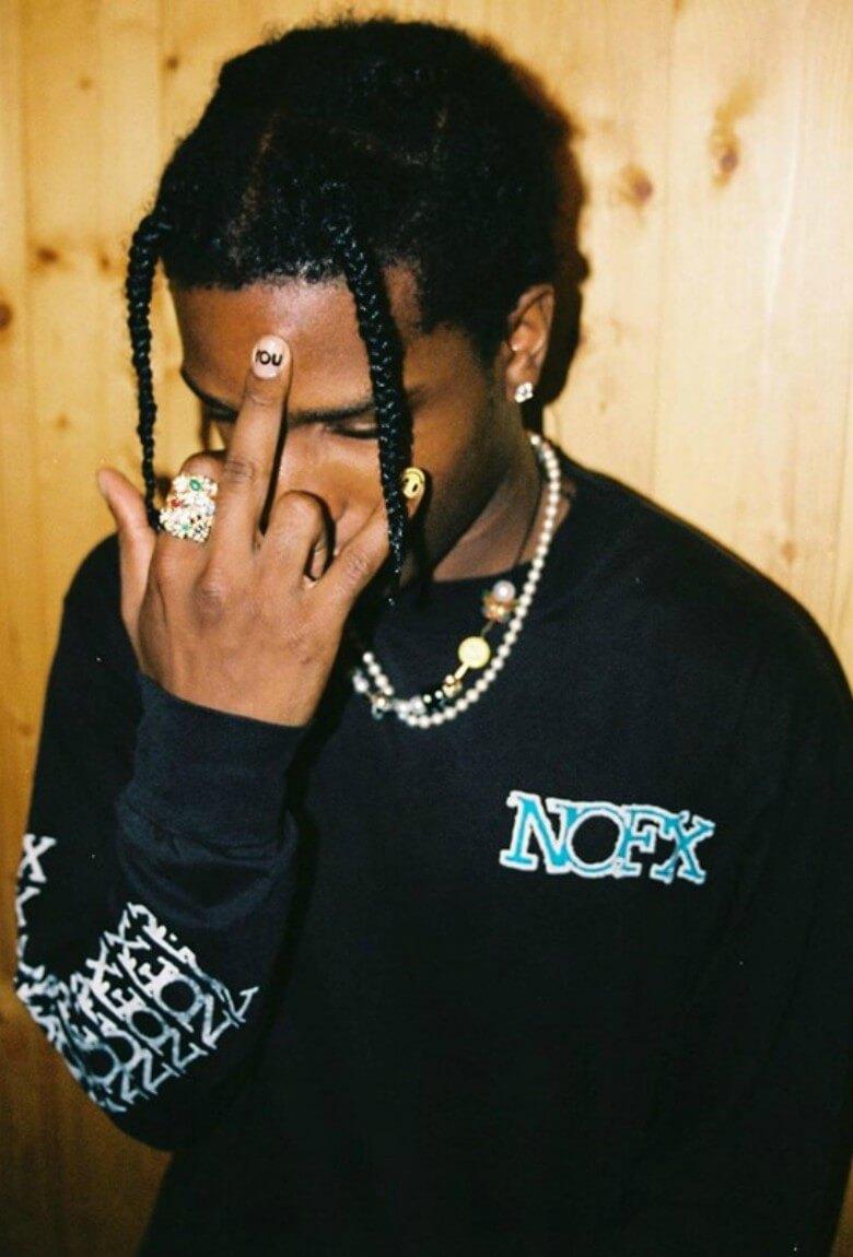 Uniformes por A$AP Rocky para los presos en Suecia