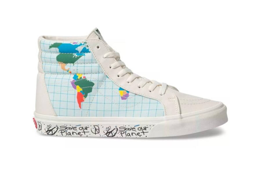 Vans lanza colección #Save Our Planet""