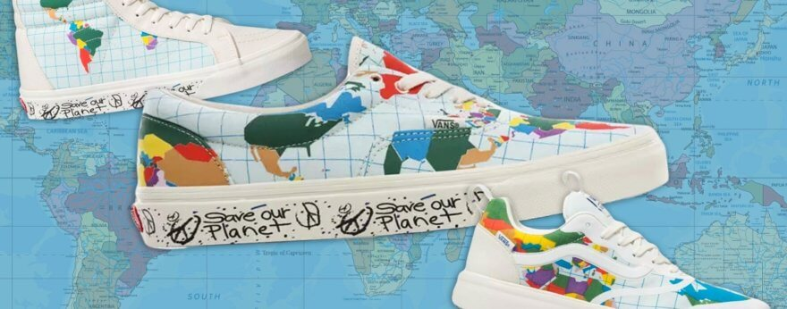 Vans lanza colección ecologista «Save Our Planet»