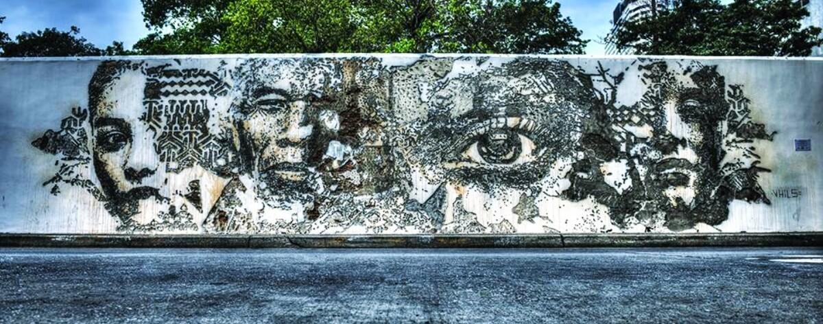 Vhils y sus mejores muros por el mundo