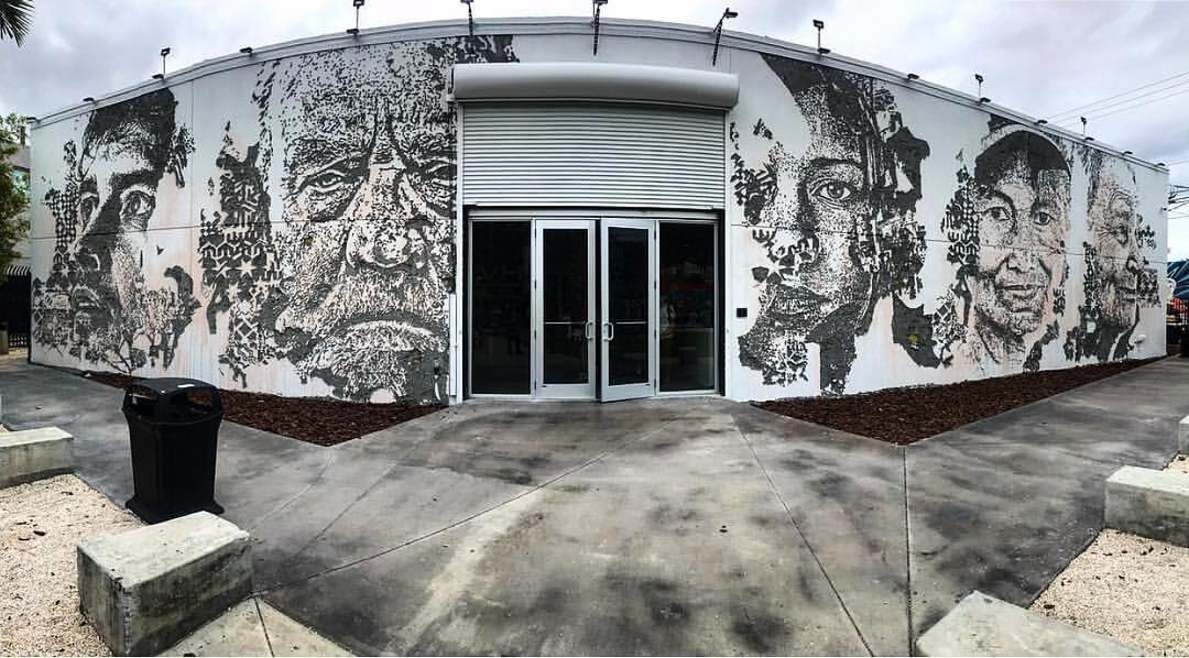 Vhils y lo mejor de sus murales por el mundo
