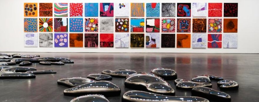 Yayoi Kusama abre exposición 'Every Day I Pray for love'