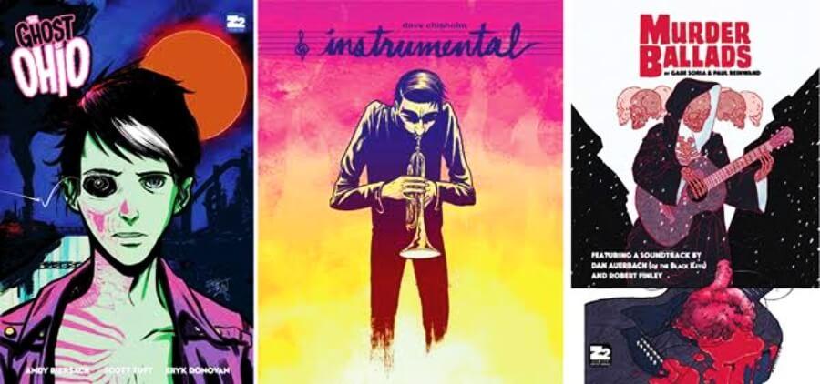 Z2 Cómics, empresa que promueve música con cómics