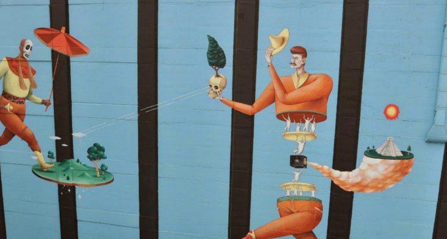 Aec Interesni Kazki y sus mejores murales