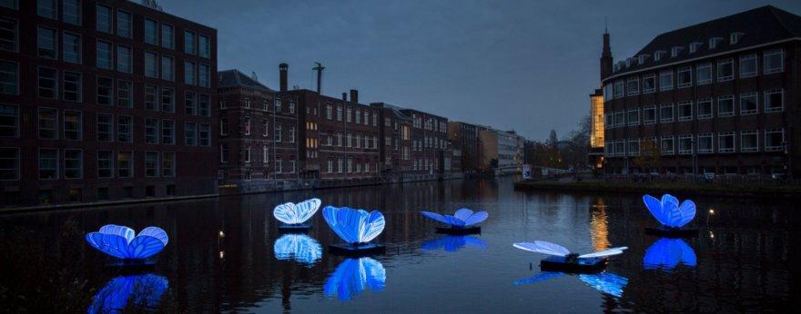 Amsterdam Light Festival llega con instalaciones de luz