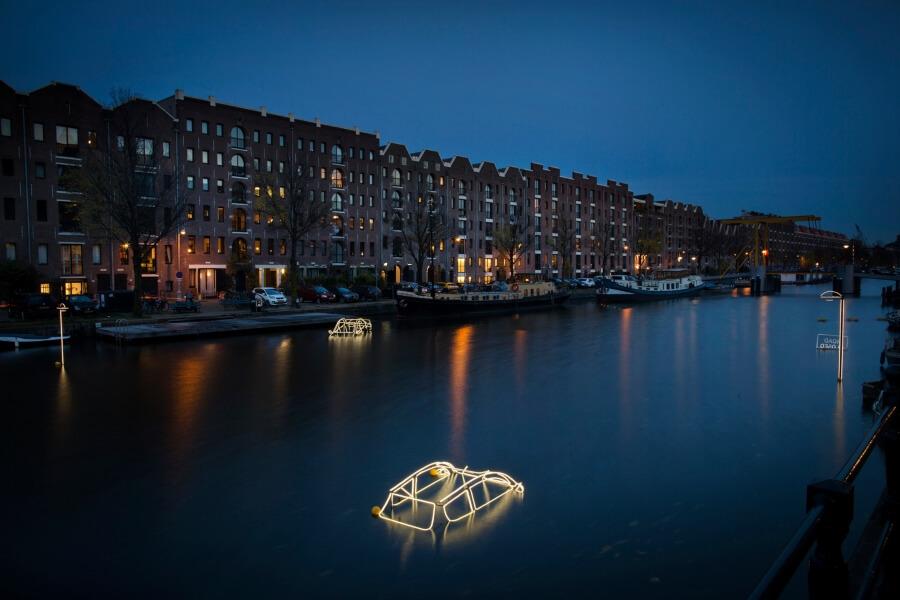 Amsterdam Light Festival llega con su nueva edición
