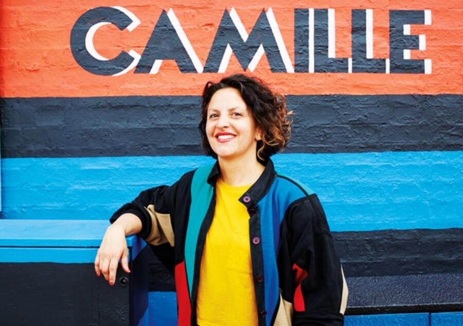 Camille Walala y sus ambientes policromáticos