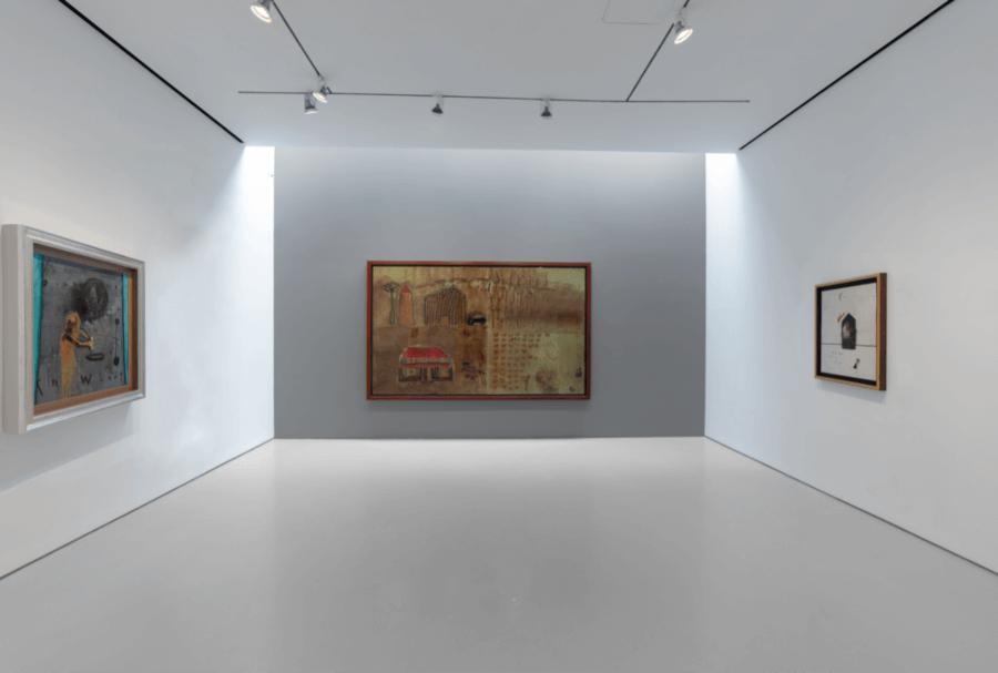 David Lynch presentó exposición en Nueva York