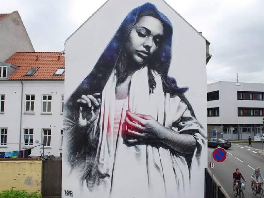 El Mac, el rey del street art fotorrealista
