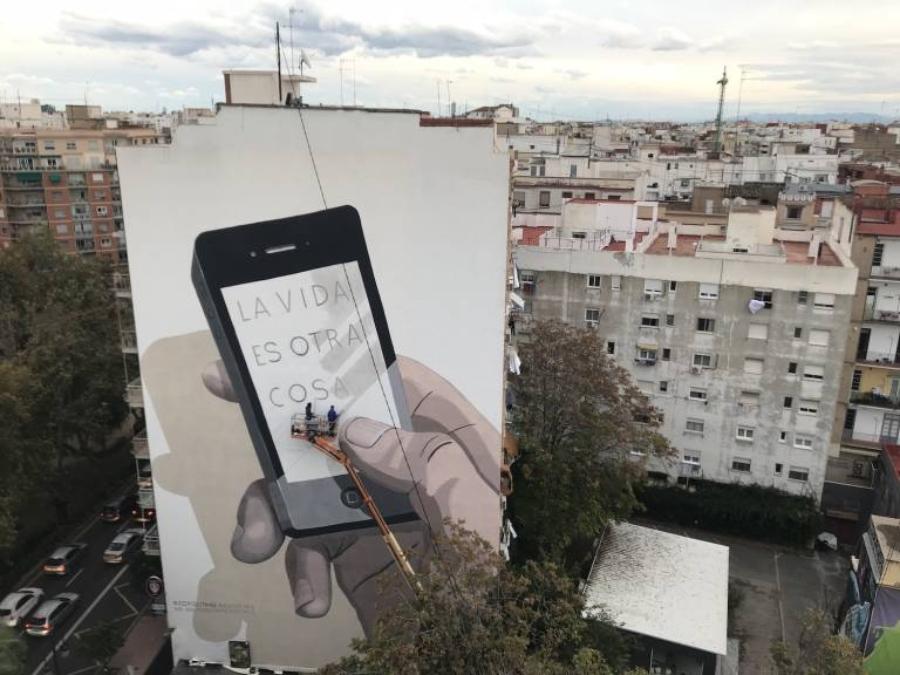 Escif, street art subversivo