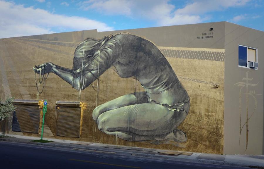 Faith 47 la artista del street art con causa social