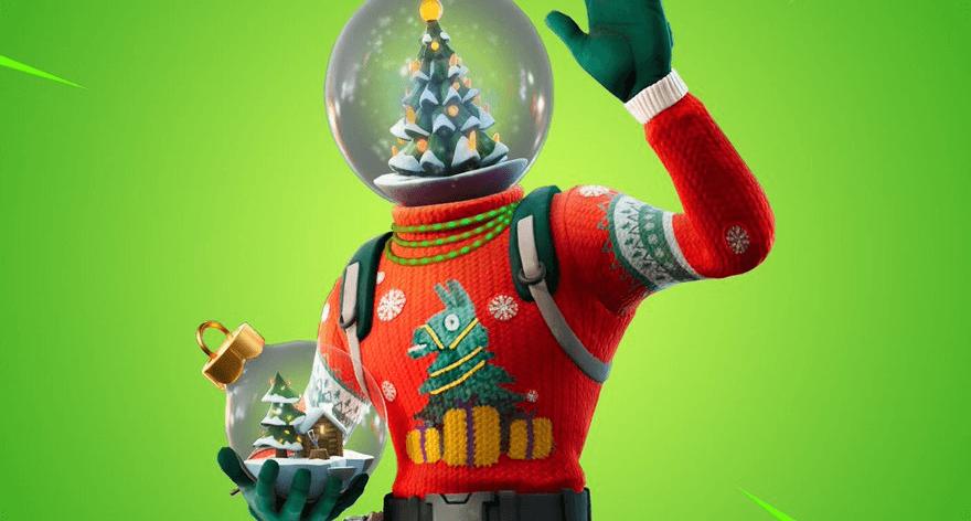 Fortnite ya está comenzando a vivir la Navidad