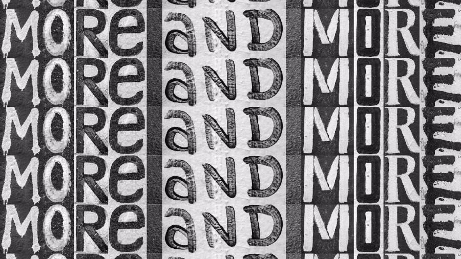 Heimat crea tipografia con street art del Muro de Berlin
