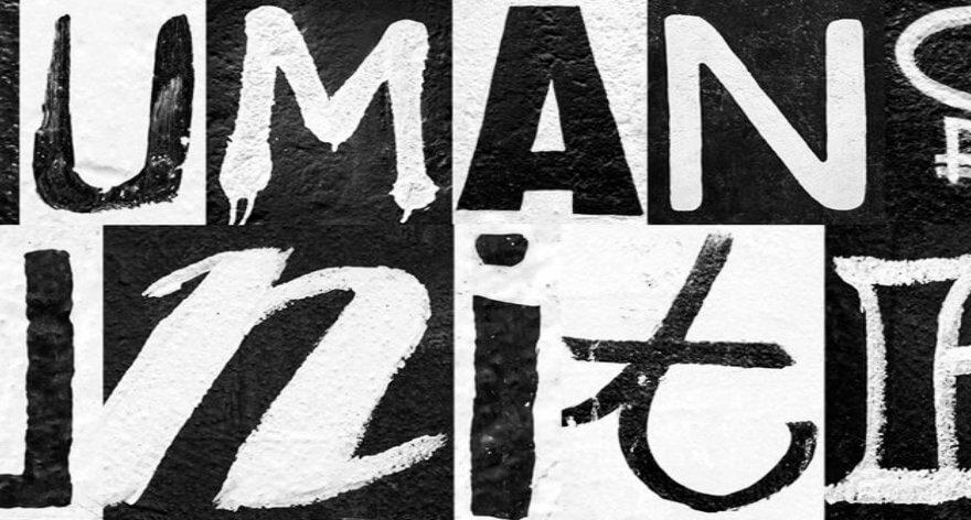 Heimat crea tipografía con street art del Muro de Berlin