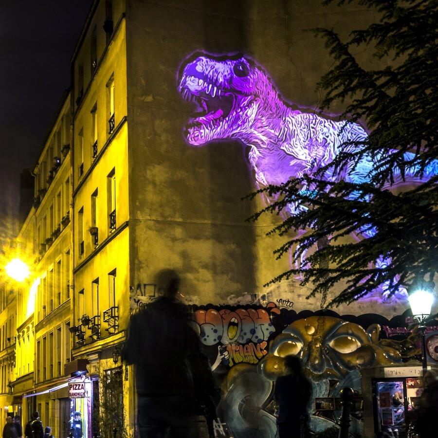 Julien Nonnon es el autor detrás de estos dinosaurios