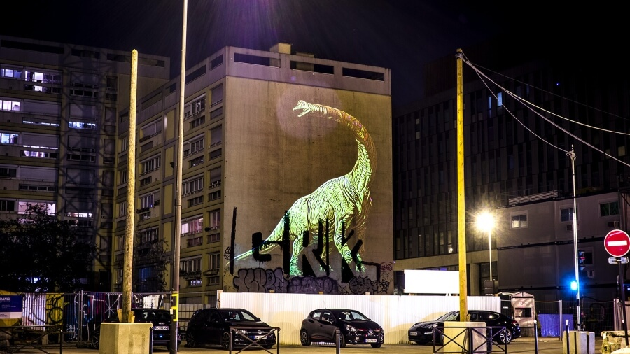 Julien Nonnon is the author behind these dinosaurs