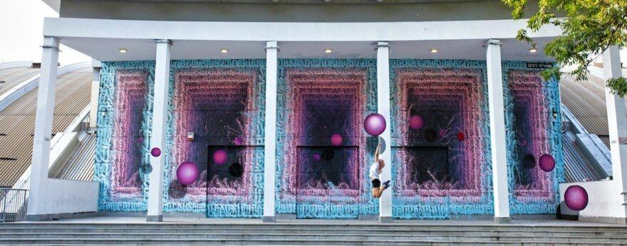 Izzy Izvne, portales de graffiti tras las paredes
