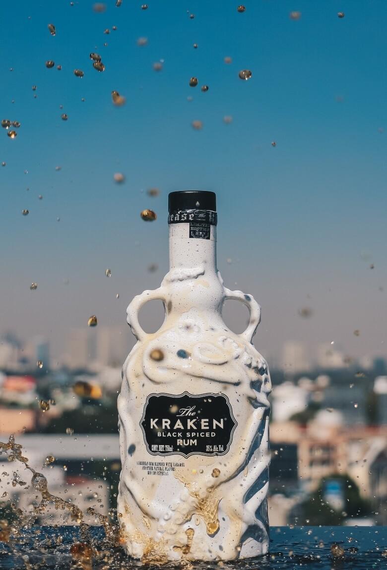 Kraken con un mensaje en nueva botella edición especial