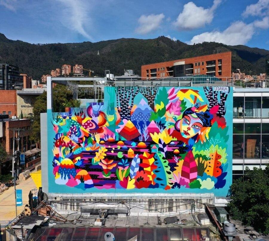 Ledania en Bogotá