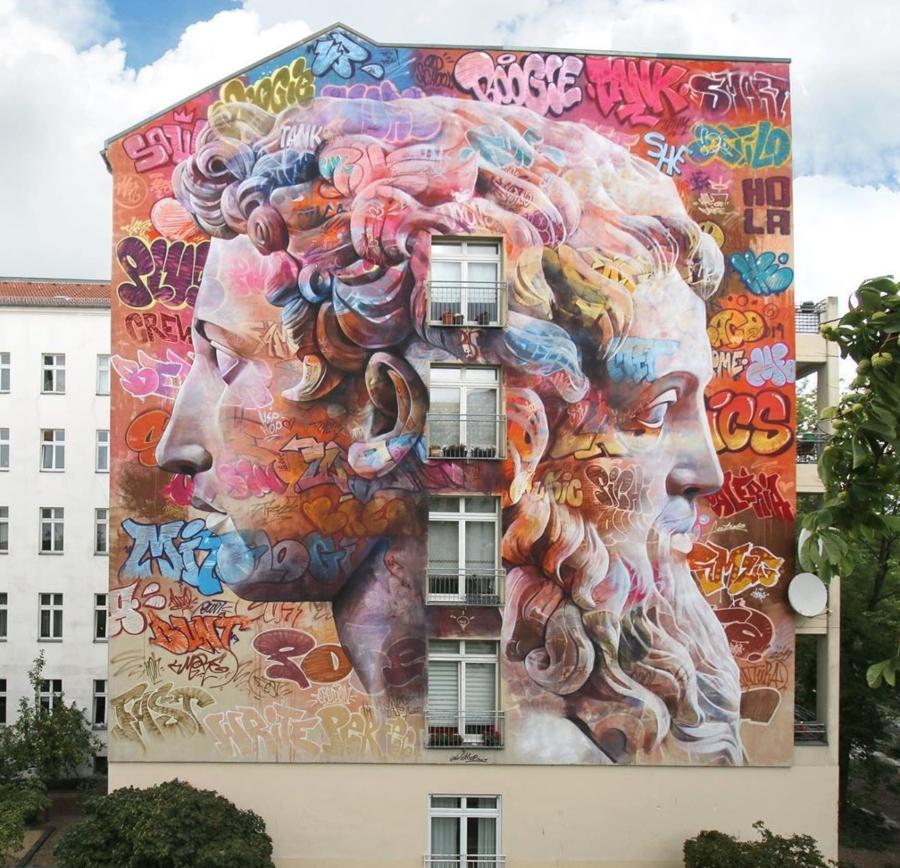 Pinchiavo para Berlin Mural Festival