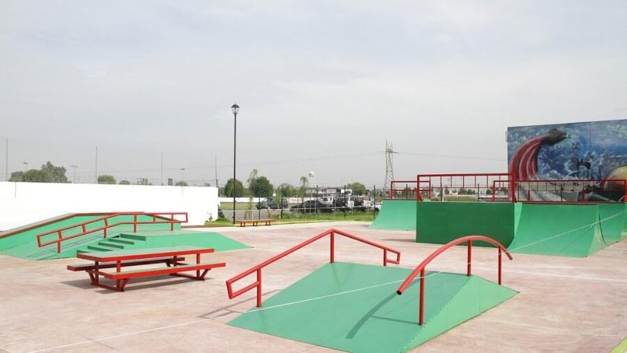 Tema Skatepark ubicado en Cocalco