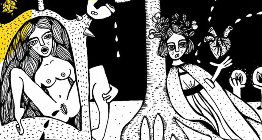 Maru Ceballos ilustra con su estilo La Divina Comedia