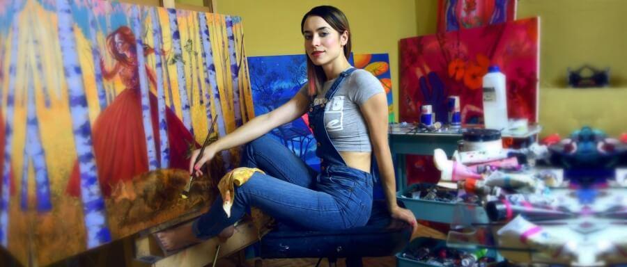 retrato de Natalia Rak