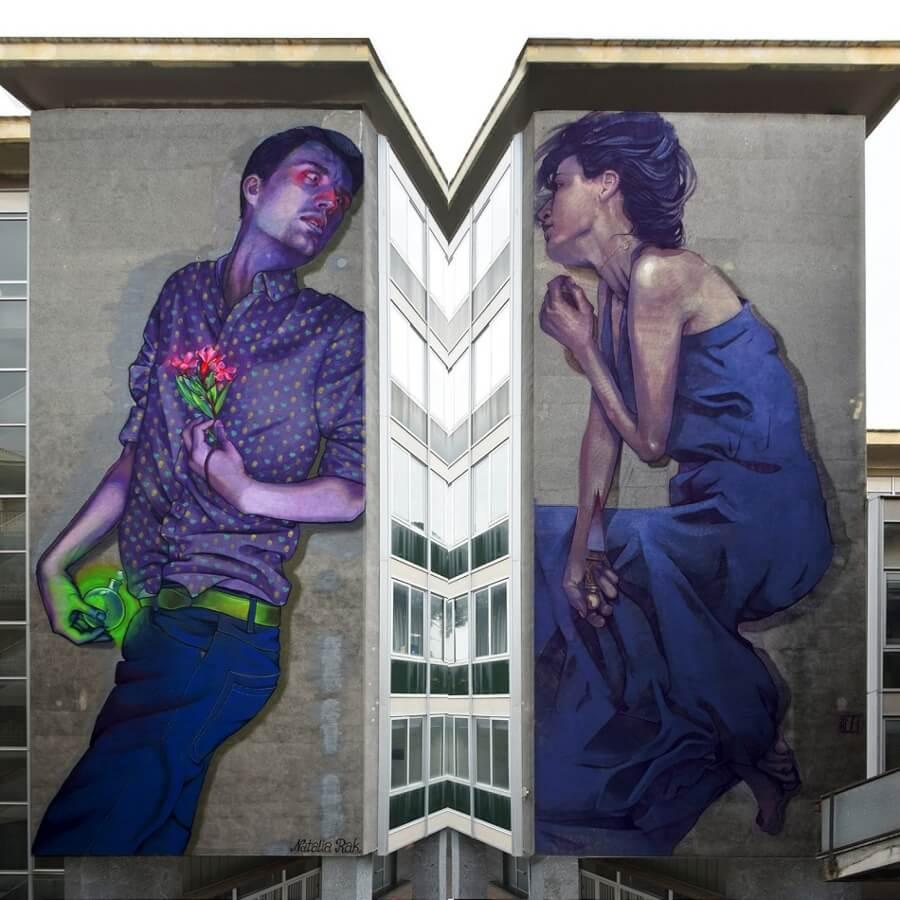 Natalia Rak la artista polaca que crea metáforas visuales