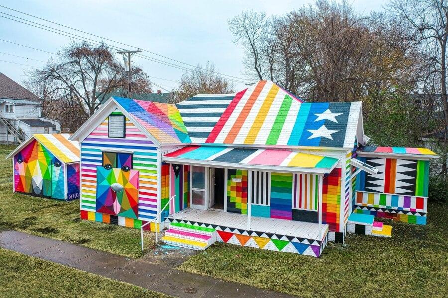 """""""The Rainbow Enbassy"""" tiene la finalidad de revitalizar"""