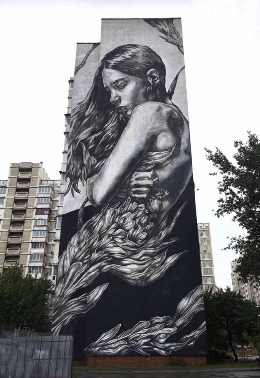 Muro de la artista PD