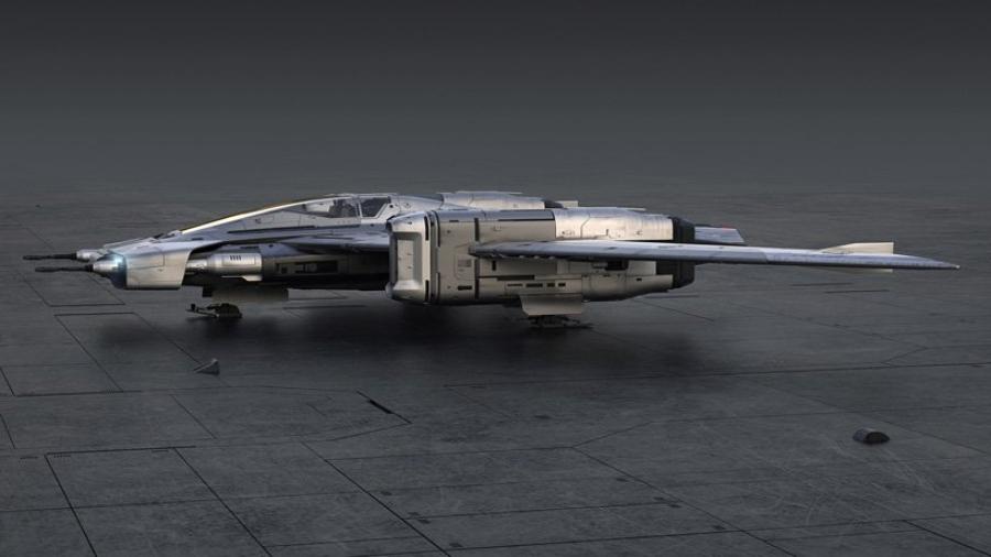 La nave espacial estará lista para el estreno de la nueva película
